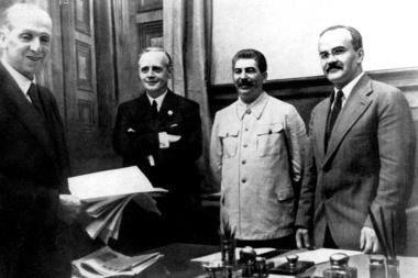 Molotovo-Ribbentropo paktas tapo įrankiu spausti Rusiją?
