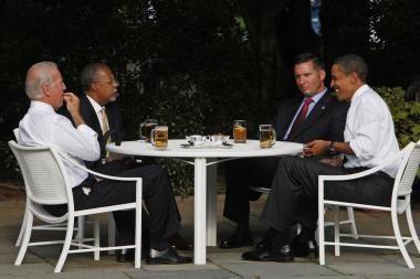 JAV prezidentas rasizmo skandalą šaldė alumi