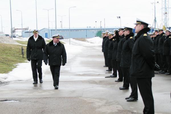 Klaipėdoje lankysis Danijos karinių jūrų pajėgų vadas