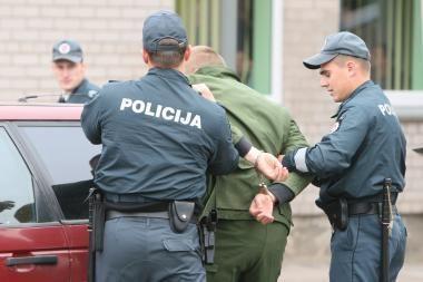 Klaipėdos policininkai sugavo bėglį