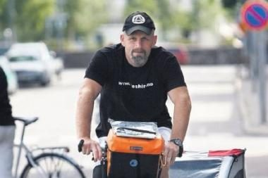 Į Klaipėdą užsuks dviračiu į Afriką važiuojantis norvegas
