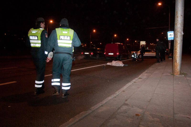 Vilniuje taksi mirtinai sužalojo pėsčiąją