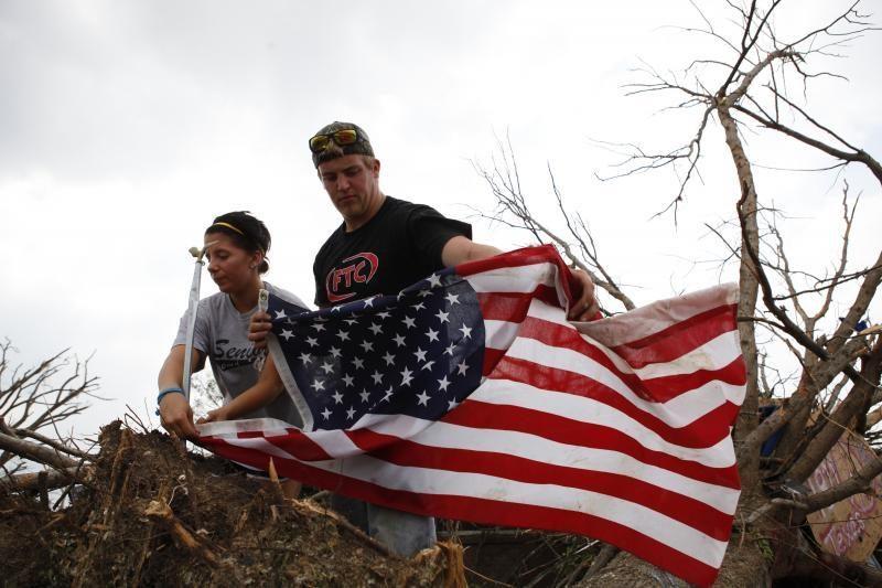 JAV pietuose siautęs tornadas pražudė du žmones