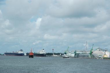 Pertvarkoma jūrų uostų ir laivų apsaugos informavimo sistema