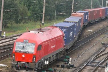 Startuos šaudyklinis traukinys Klaipėda – Vilnius – Klaipėda
