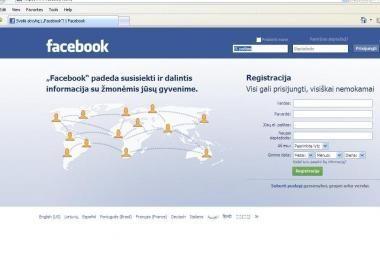 Vagys gali stebėti socialinių tinklų dalyvių informaciją