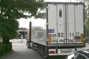Panevėžio rajone iš vilkiko pavogta 11 skalbyklių