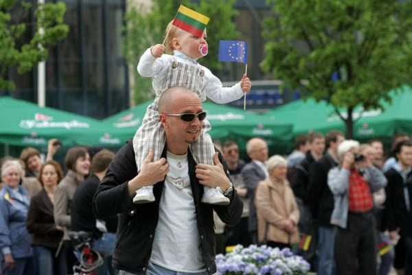 Vilnius linksmai švenčia Europos dieną (renginių programa)
