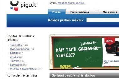 """""""Pigu.lt"""" - geriausia lietuviška parduotuvė internete"""