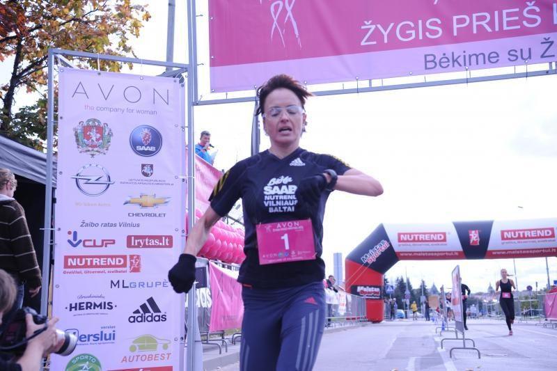 Garsiausia Lietuvos maratonininkė Živilė Balčiūnaitė finišavo antra