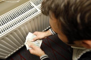 Didėja įsiskolinimai už šildymą