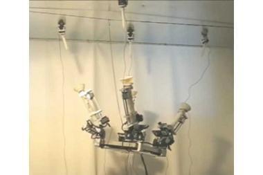 Izraelyje sukurtas lubomis vaikščiojantis robotas