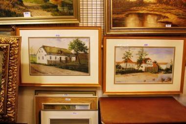 A.Hitlerio paveikslai parduoti už 95 tūkst. svarų sterlingų