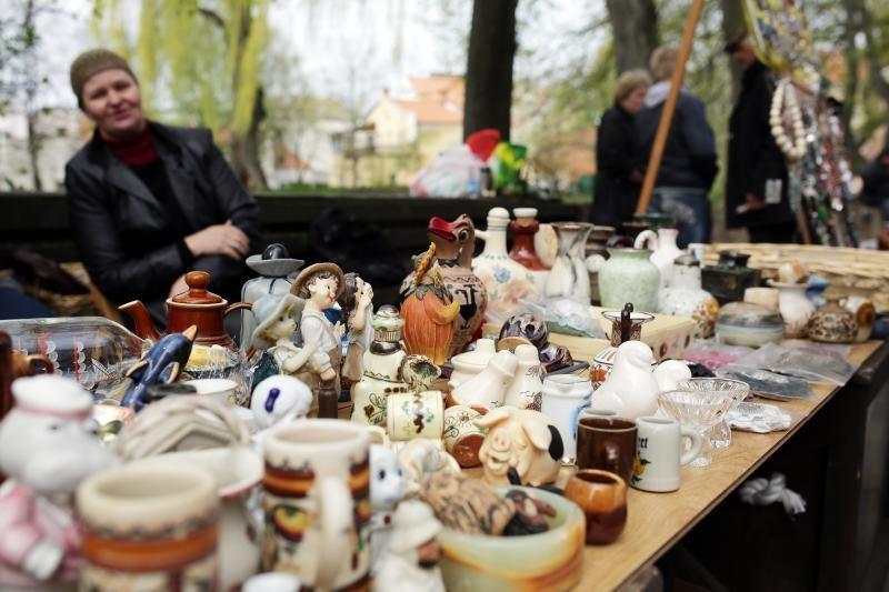 Klaipėdos senamiestyje atgimė blusų turgus