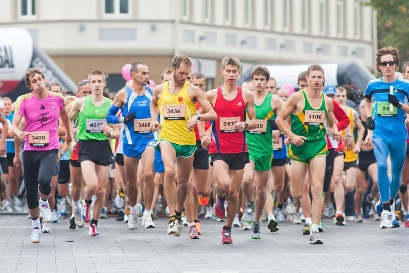 Bėgikai vėl kviečiami registruotis į Vilniaus maratoną