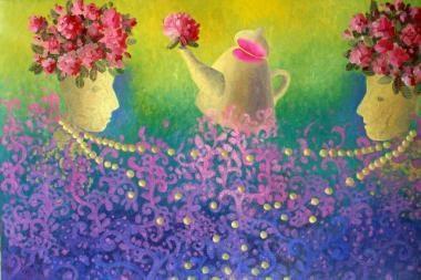 """Senamiesčio galerijoje - tapybos paroda """"Pavasario pažadai"""""""