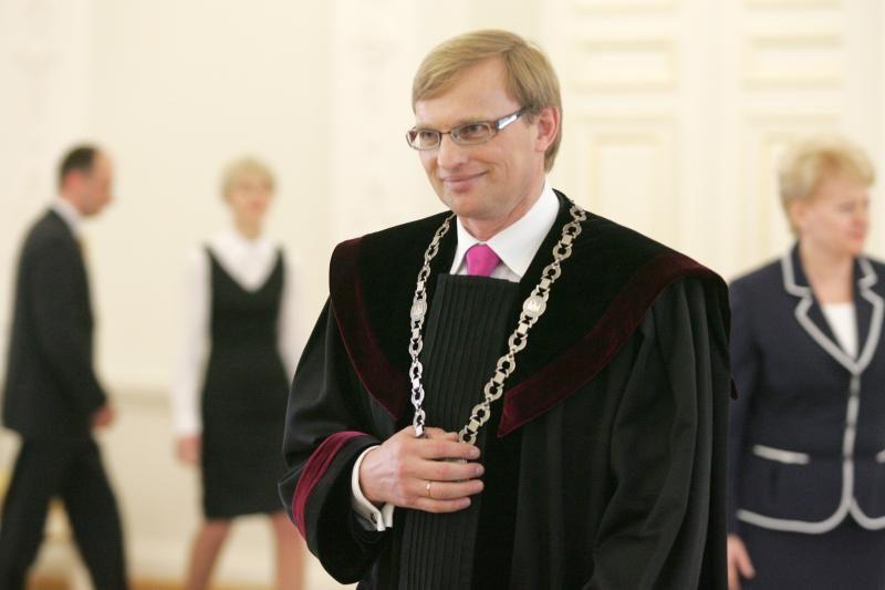 A.Valantiną siūloma skirti Vilniaus apygardos teismo teisėju