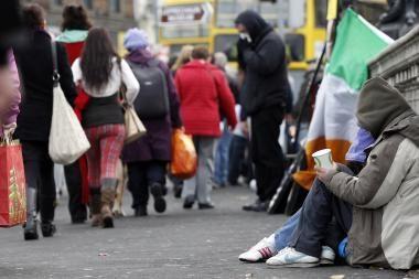 ES sutarė dėl 85 mlrd. eurų finansinės pagalbos Airijai