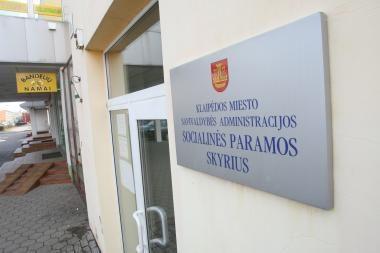 Klaipėdos socialinės paramos centrui trūksta lėšų