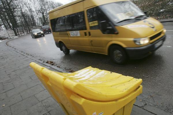Rytų Lietuvoje šlapdriba, eismo sąlygos geros