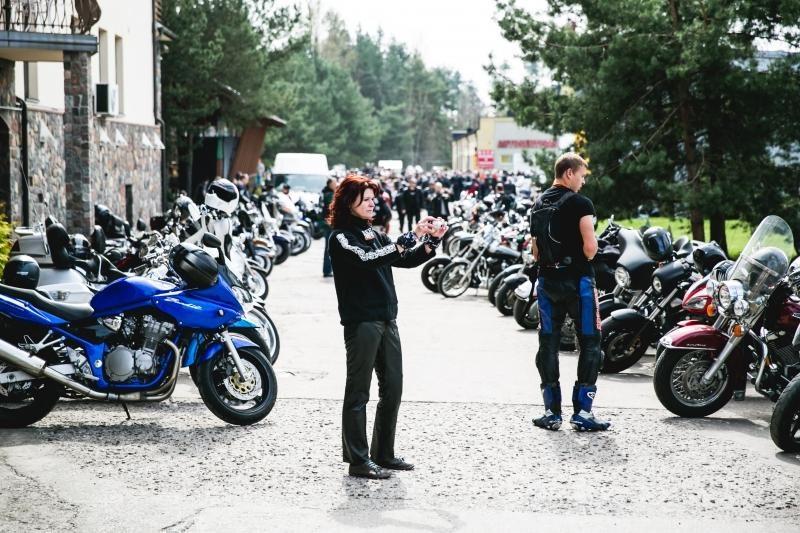 Baikerių sezono atidarymą Kaune aptemdė skaudžios avarijos