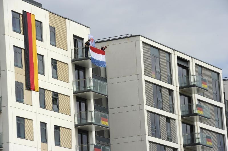 LTOK: Londono olimpiniame kaimelyje jau apsigyveno Lietuvos gimnastai