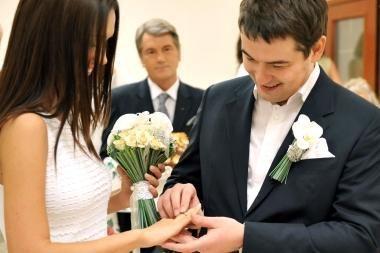 V.Juščenkos sūnus vedė žinomos televizijos vedėjos seserį
