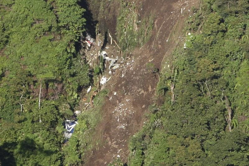 Gelbėtojai Rusijos lėktuvo sudužimo vietoje rado 12 žuvusiųjų palaikus