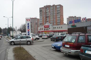"""Prie Klaipėdos """"Maximos"""" – septynios avarijos ir sužeistieji"""