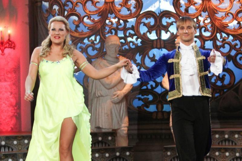 Suknelių parade nesuvaržytą seksualumą demonstravo tik I. Kazlauskaitė