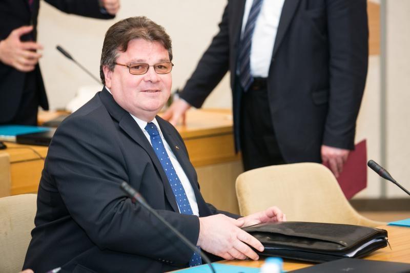 L. Linkevičius Bahreine aptars  terorizmo ir piratavimo klausimus