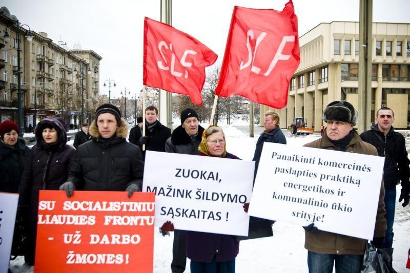 """Vilniečiai su """"Frontu"""": prieš transporto reformas ir šildymo kainas"""
