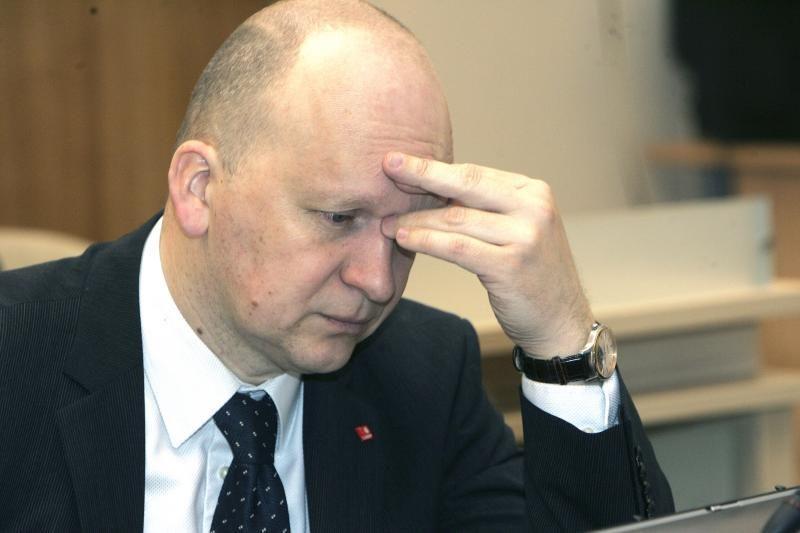Kauno vicemeras K.Kriščiūnas sės dėl padangų?