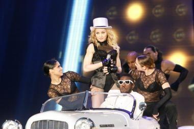 Madonna Taline surengė įspūdingą pasirodymą