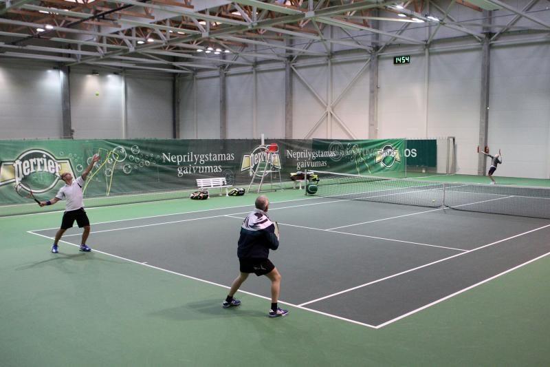 Sostinėje vyksta BMW VIP teniso turnyras