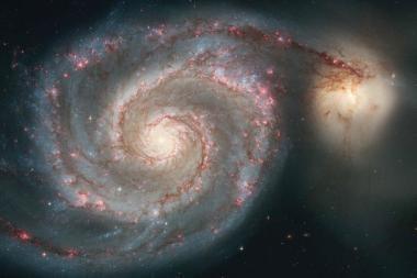 Galaktikų augimo paslaptis – dujos
