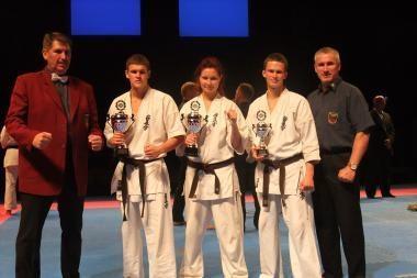 """""""Shodan"""" kovotojai Švedijoje iškovojo 2 sidabro medalius."""