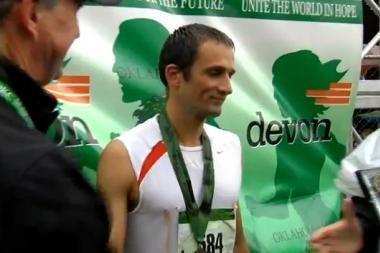 M.Pukštas - maratono bėgimo Oklahomoje nugalėtojas