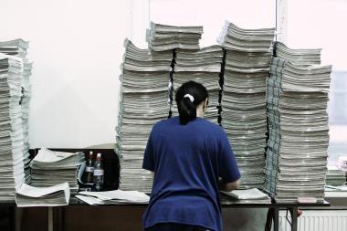 Kasdien susiduriame su tiek informacijos, kiek telpa 174 laikraščiuose