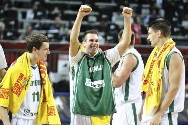 Australijos rinktinė nusileido Slovėnijos krepšininkams