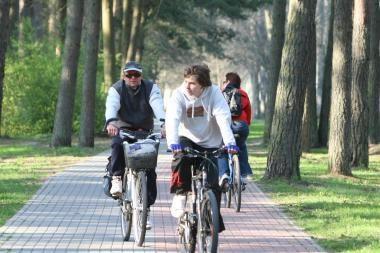 Klaipėdiečius skatins automobilį iškeisti į dviratį