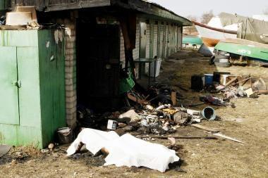 Uostamiestyje sudegė du vyrai