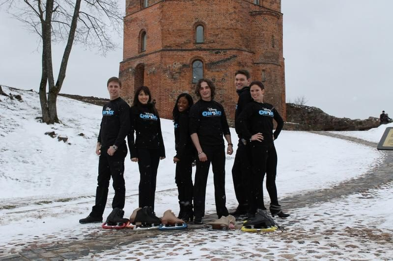 "Ledo šou ""Disney On Ice"" trupė jau Vilniuje"