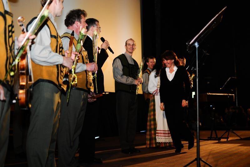 Kauno senjorams padovanojo įsimintiną koncertą