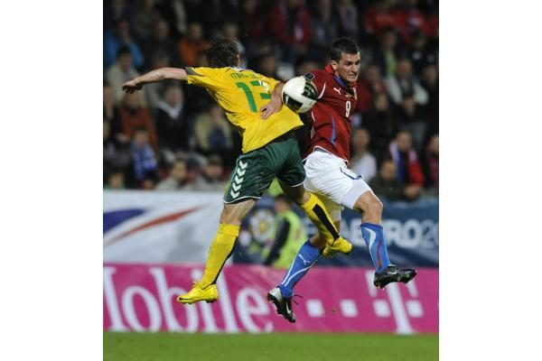 Europos futbolas: istorinė lietuvių pergalė Čekijoje