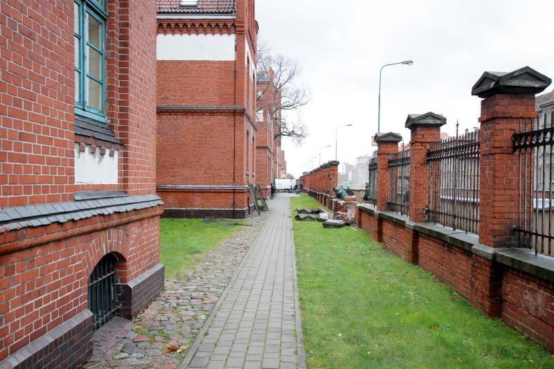 Klaipėdos universitetas atnaujins tvorą