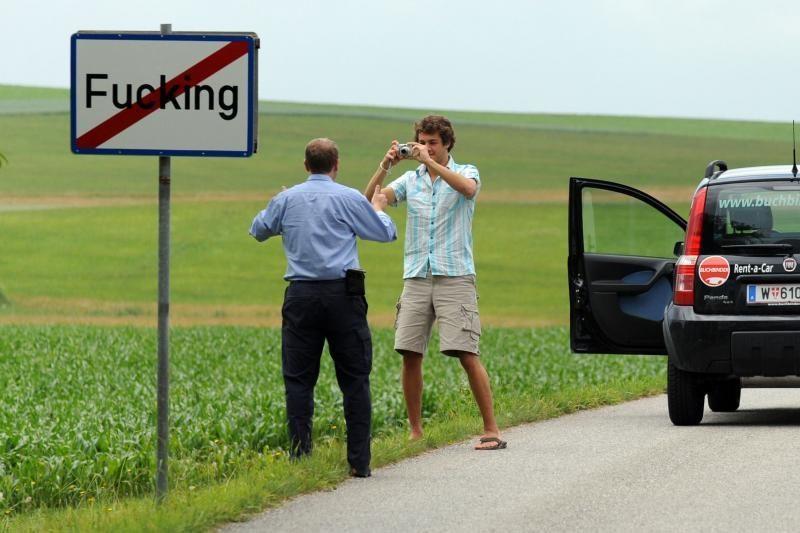 Fukingo miestelis Austrijoje savo pavadinimo keisti neketina