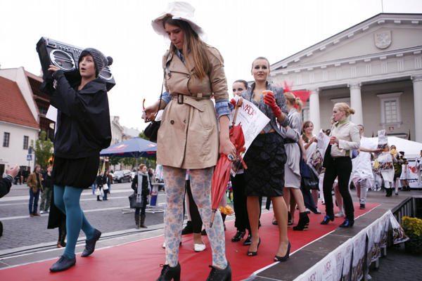 Vilniuje pajudėjo