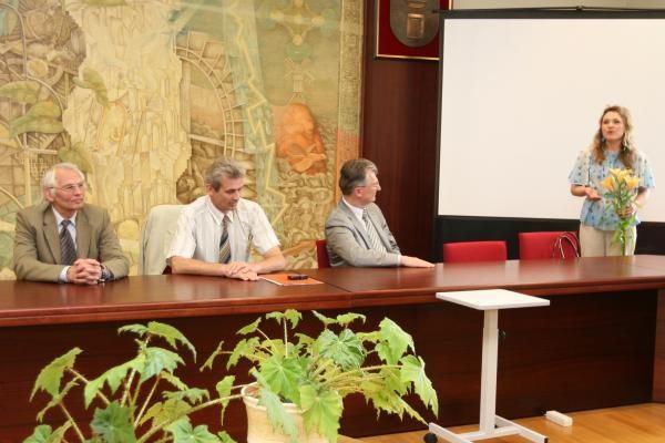 Pagerbti iškiliausi Klaipėdos universiteto studentai humanitarai