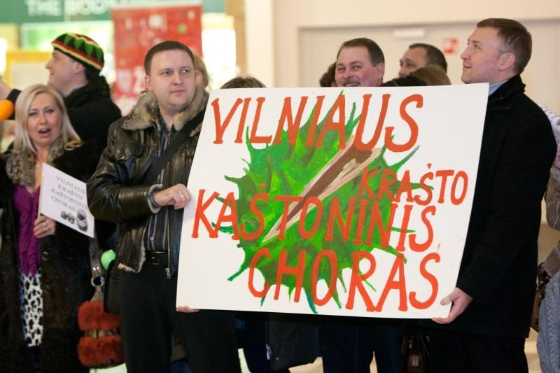 Kaštoninis Vilniaus krašto choras nusiteikęs laimėti